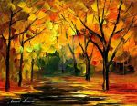 New original oil on canvas by Leonid Afremov by Leonidafremov