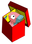 Porygon in a box color by Runenkatze