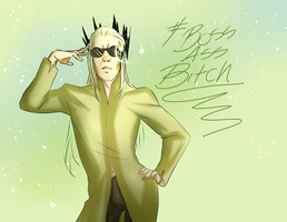 Thranduil's Sunglasses by jack-o-lantern12