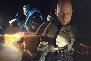 Mass Effect Deadly Trio by Gryz