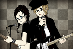 me and patrick stump playing a duet by x-vanilla-cupcakes-x