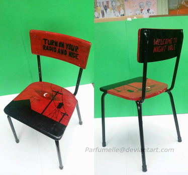 Welcome to Night Vale - chair by Parfumelle