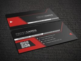 Creative Business Card No.4 by Frosteeish