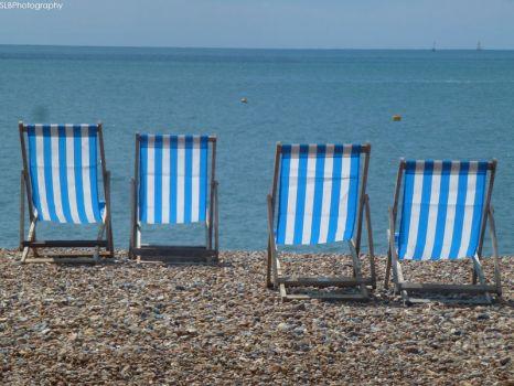 Brighton: Deck Chairs by shannonBAKERx