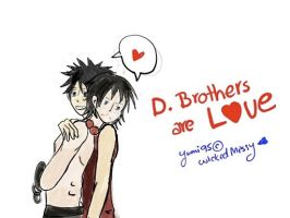 D. Brothers are love by yumi95