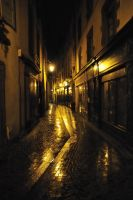 Clermont by night II by OpenRomain