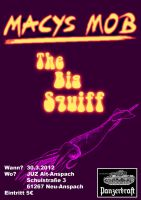 Flyer for Macys Mob and The Big Squiff Live by Wormed