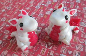 Valentine Twin Dragons by SneakyCinnamon