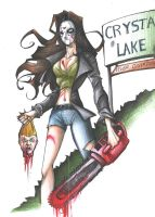 Welcome To Crystal Lake by blackangelofmine