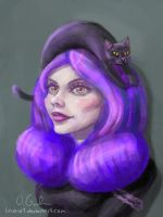 The Witch's Hat by limona1