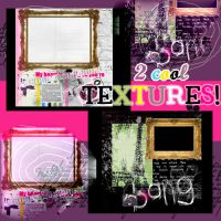 2 cool textures by GlamourObsession