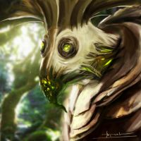 Tree monster.. by 2lua