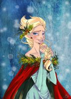 Queen of Christmas by PinkPigtails