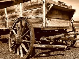Old Wagon by alimuse