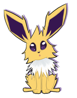 Jolteon by Luckynight48