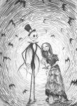 100 Faves! Phantom Jack and Sally by Sinister-Sweet