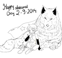 [Wip] Happy National Day 2-9 by Kanotan