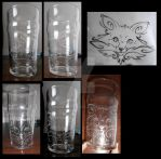 Fox glass by aarre-pupu