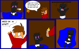 Look what David found 2 .:Hunger:. by Obsidianthewolf