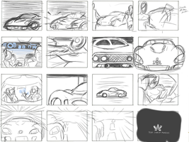 Adonis Stinger Storyboard by OcAmee