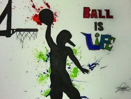 ball is life by Jess2Lucky