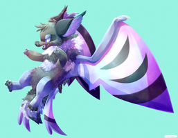 hairy bat by Lunchwere