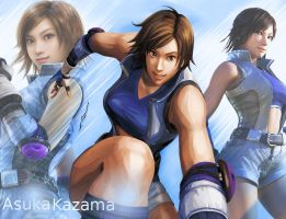 Asuka Kazama Once Again by dirtscan