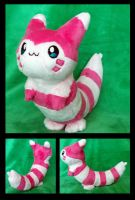 Shiny Furret Plush :Commission by AppleDew
