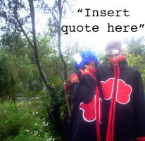 Konan and Pein Quote Contest by flamable77