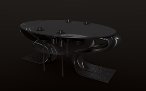 Sci-fi table concept 2 by betasector