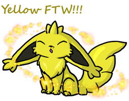 Yellow FTW by Kimi133