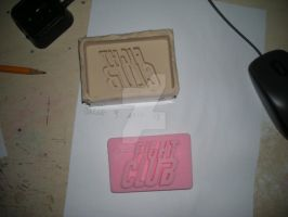 Fight Club Soap Bar by NothinToSay
