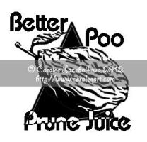 Fake Prune Juice Logo by AlmightyOracle