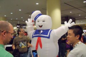 Giant Marshmallow Man by Dinalfos5