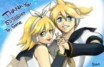 vocaloid Rin and Len by Som66