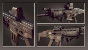 HIDE - Scar-H Close-Ups by Korann