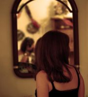 Look through the mirror by MoonlessNightGirl