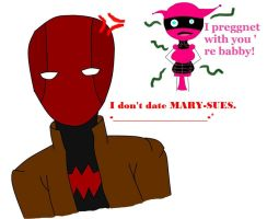 Jason does not date Mary Sues by LittleWhiteAngelWolf