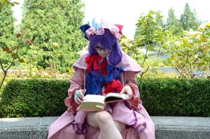 Patchouli Knowledge - Touhou Project by DISC-Photography