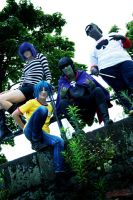 GoRiLLaZ Cosplay 199 Group by Murdoc-lein