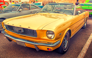 Classic Ford Mustang by Neko-CosmicKitty