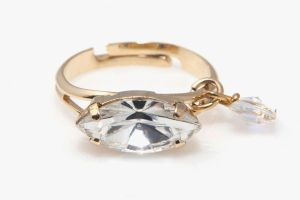 FREE SHIPPING Idit Stern Adjudtable Marquise Ring by iditstern