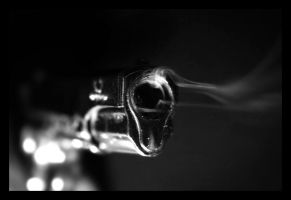 a smoking gun by eightball
