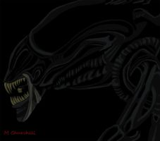 Xenomorph Queen Colour by unknownguyver81