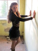 in the abandoned house by girls-n-stylestock