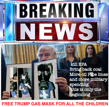 Trump gasmask co. no.2 by guanamon