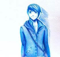 Blue is a color by i-am-tsukiko