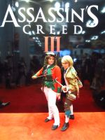Assassin's Creed 3 Redcoat and RobberCosplay NYCC by NeedtoDestroy