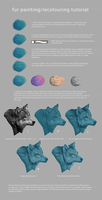 Fur Painting/Recolouring Tutorial by 404mockingbirds