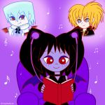 Day 3: Listening to Music and Reading by HoneyBatty16